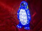 LED tuledega akrüülkuju Pingviin HÜ-70984