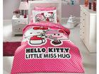 Voodipesukomplekt Hello Kitty 160x220cm AÄ-71015