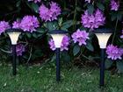 Päikesepaneeliga aiavalgustikomplekt 3tk AA-72910
