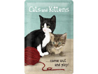 Retro metallposter Cats and Kittens 20x30cm SG-73492