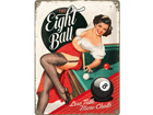 Retro metallposter The Eight Ball 30x40cm SG-73500
