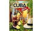Retro metallposter Cuba Libre 30x40cm SG-73501