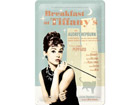 Retro metallposter Breakfast at Tiffany´s SG-73766