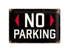 Retro metallposter No parking 20x30cm SG-74247