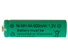 Päikeseenergiaga laetav Ni-MH aku AA 1,2V AA-74540