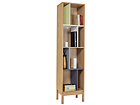 Riiul Abbey Wood Offset Bookcase WO-74846