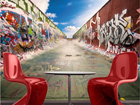 Fototapeet Graffiti half pipe 280x200 cm ED-75080