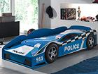 Voodi Police car 70x140 cm AQ-75153