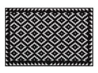 Vaip Tabuk Black & White 50x75 cm