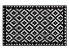 Vaip Tabuk Black & White 75x120 cm A5-77311