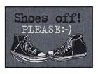 Vaip Shoes off Please 50x75 cm