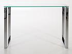 Klaasist laud Katrine 110x40 cm CM-79477