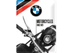 Retro metallposter BMW Motorcycles since 1923 30x40 cm