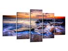 Viieosaline seinapilt Ookean 200x100 cm ED-80892