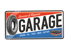 Retro metallposter Service & Repair Garage 25x50cm SG-82043
