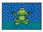 Vaip Yoga Frosch 50x75 cm A5-84285