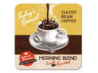 Retro klaasialus Morning Blend 4tk SG-84331