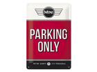 Retro metallposter Mini Parking only 20x30 cm SG-84340