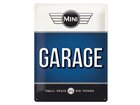 Retro metallposter Mini Garage 30x40 cm SG-84354