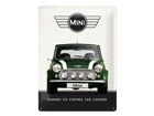 Retro metallposter Mini Cooper 30x40 cm SG-84355