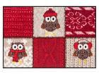 Vaip Winter Owls Red 50x75 cm A5-84594