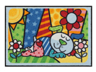 Vaip Pop Art Dog 50x75 cm A5-84720