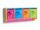 Riiul lastetuppa Color GB-85434