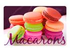 Taldrikualus Macarons 4 tk AÄ-86501
