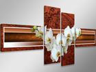 Neljaosaline seinapilt Orhidee 160x70 cm ED-86586