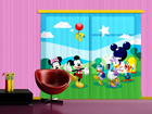 Kardin Disney Mickey and Friends, 280x245 cm ED-87002
