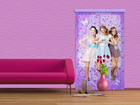 Fotokardin Disney Violetta and friends 140x245 cm ED-87200