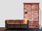 Fotokardin Red bricks 140x245 cm ED-87215