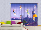 Poolpimendav fotokardin Disney fairies in London
