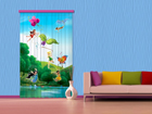 Poolpimendav fotokardin Disney Fairies with rainbow 140x245 cm ED-87416