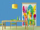 Poolpimendav fotokardin Spoons and forks 140x245 cm ED-87451