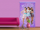 Pimendav fotokardin Disney Violetta and friends I 140x245 cm ED-87849