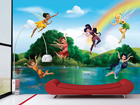 Fototapeet Disney Fairies with rainbow 360x254 cm ED-88009