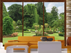 Fototapeet Windows to the garden 360x254 cm ED-88039