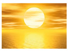 Fototapeet Golden sun 400x280 cm ED-88109