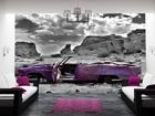 Fototapeet Cadillac in pink 400x280 cm ED-88148