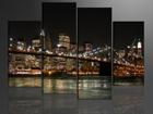 Neljaosaline seinapilt Tuledes Ameerika 130x80 cm ED-88917
