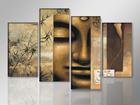 Neljaosaline seinapilt Buddha 130x80 cm ED-88922