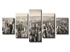 Viieosaline seinapilt New York 100x50 cm ED-89546