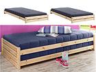 Peale tõstetavad voodid 90x200 cm, 2 tk FX-90362