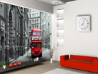 Fliis-fototapeet London bus 360x270 cm ED-90563