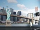 Fliis-fototapeet Statue of Liberty 360x270 cm ED-90564