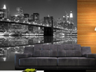 Fliis-fototapeet New York in black and white 360x270 cm ED-90571