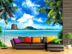 Fliis-fototapeet Tropical beach 360x270 cm ED-90599