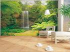 Fliis-fototapeet Waterfall 360x270 cm ED-90617