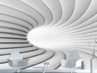 Fliis-fototapeet White tunnel 360x270 cm ED-90630